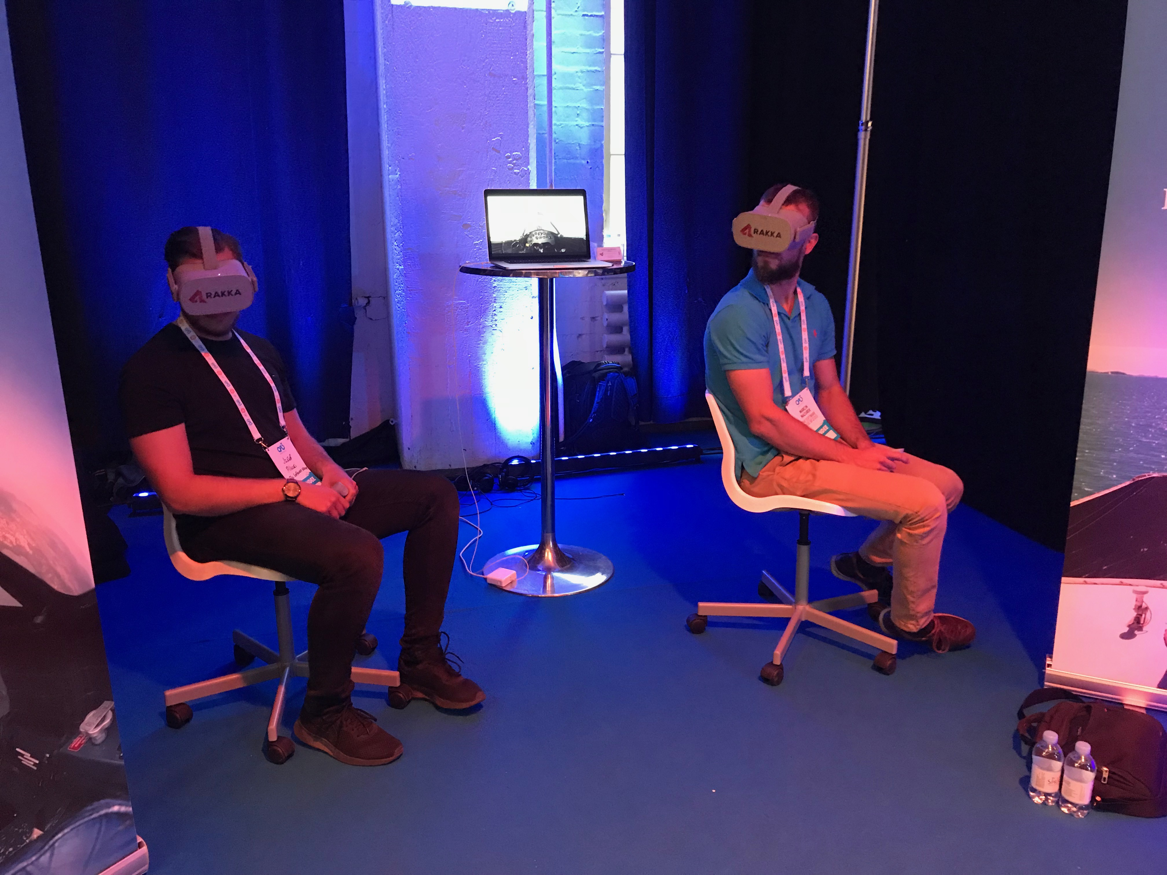 Virtual reality was one of the most popular technologies presented by startups during the conference