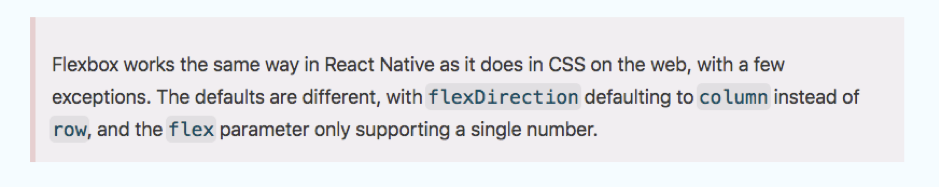 Flexbox may be helpful when you are working on your React Native app