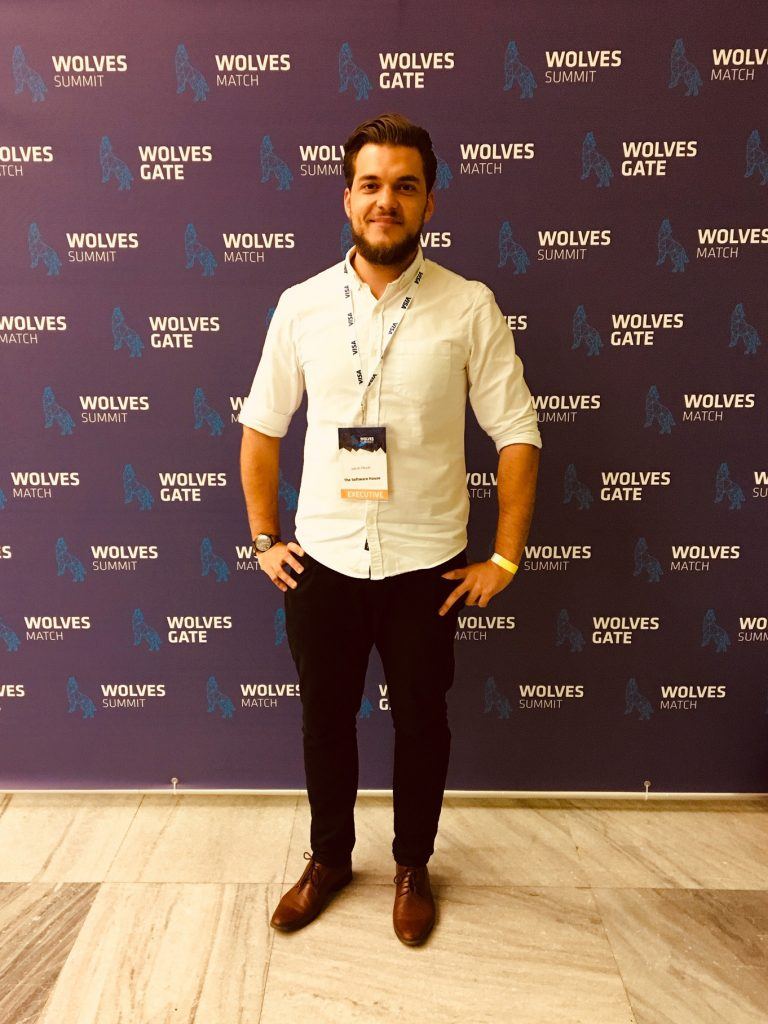 Me during the Wolves Summit 2018 conference