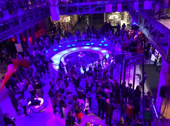 A lot of people appeared on of Women in Tech Summit